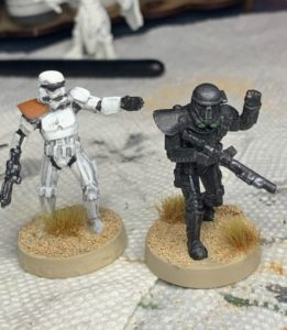 Painting StormTrooper miniatures