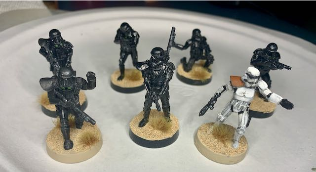 Star Wars Legion Miniature Painting