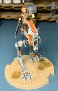 Painted AT-RT Miniature